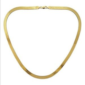 Jewelry - 14k Solid Yellow Gold Filled Herringbone Chain